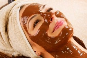 chocolade masker beauty product