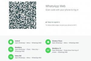 whatsapp webversie