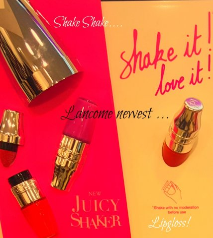 kristy dames lancome juicy shaker